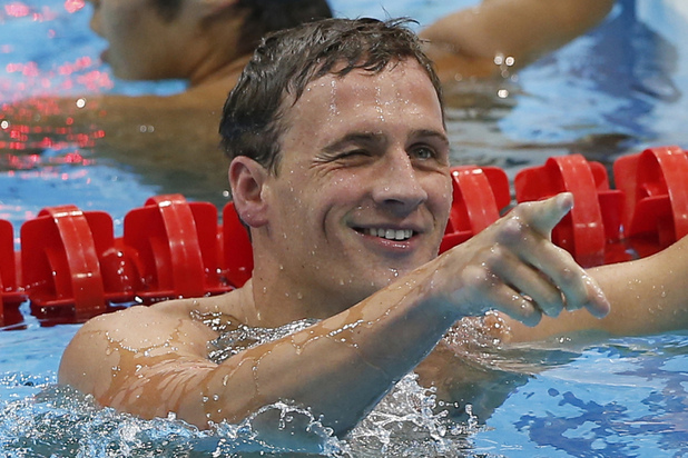 Ryan Lochte, US swimmer, London 2012,