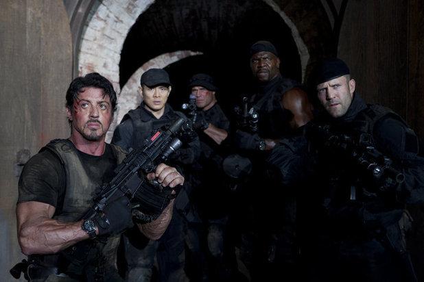 The Expendables 2, Sylvester Stallone, Jason Statham, Jet Li