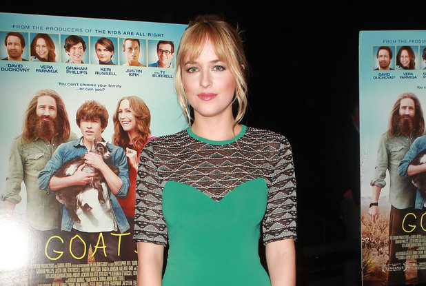 Dakota Johnson attends the premiere of Image Entertainment's 'Goats' at the Landmark Theater. Los Angeles, California