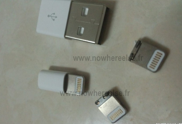 iPhone 5 connector leak