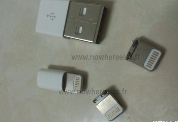 iPhone 5 connector leak