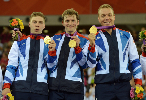 Chris Hoy, Jason Kenny, Philip Hindes