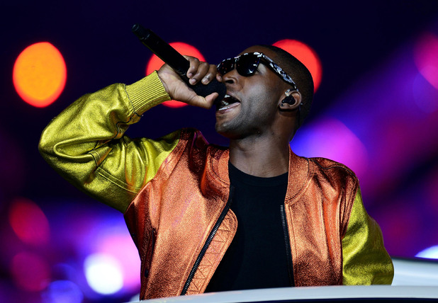 London 2012 Olympics Closing Ceremony: Tinie Tempah