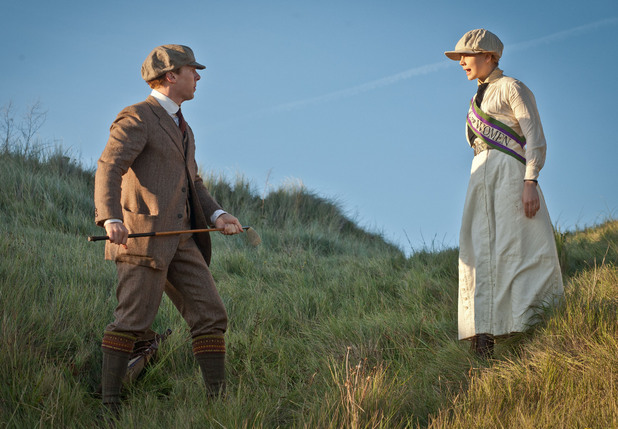 Parades End S01E01: Christopher and Valentine