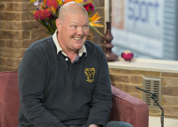 Dominic Brunt appears on 'This Morning'