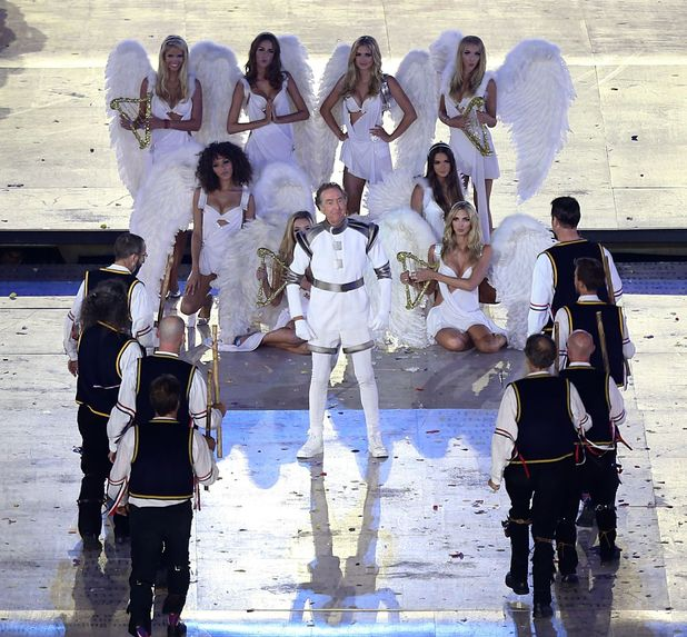 London 2012 Olympics Closing Ceremony: Eric Idle 