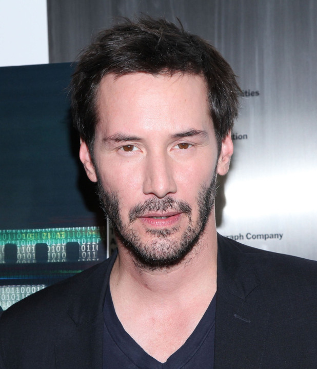 Keanu Reeves The premiere of 'Side By Side' held at The Museum of Modern Art New York City, USA
