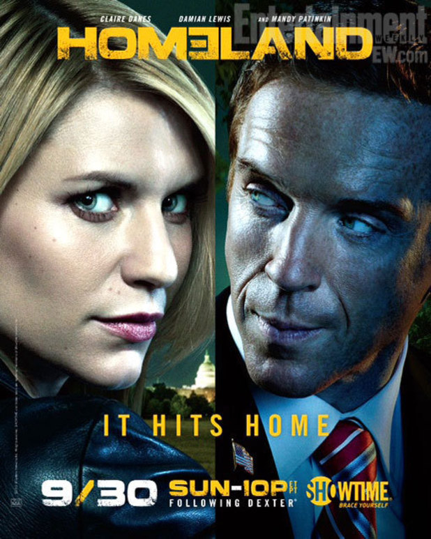 'Homeland' season 2 official poster