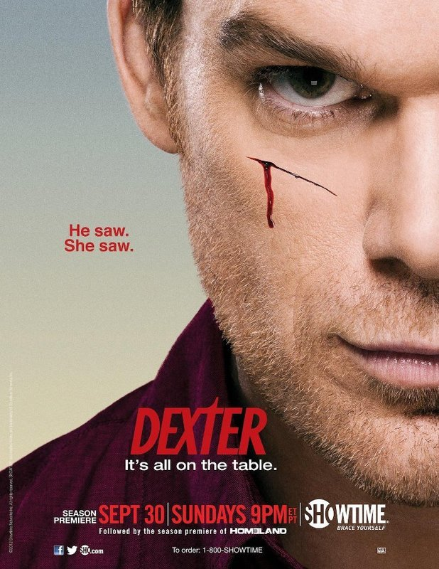 Dexter season seven poster