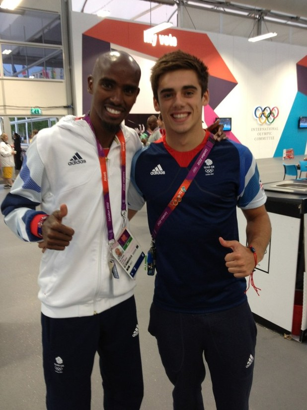 Chris Mears, Mo Farah, London 2012Chris Mears, Mo Farah, London 2012