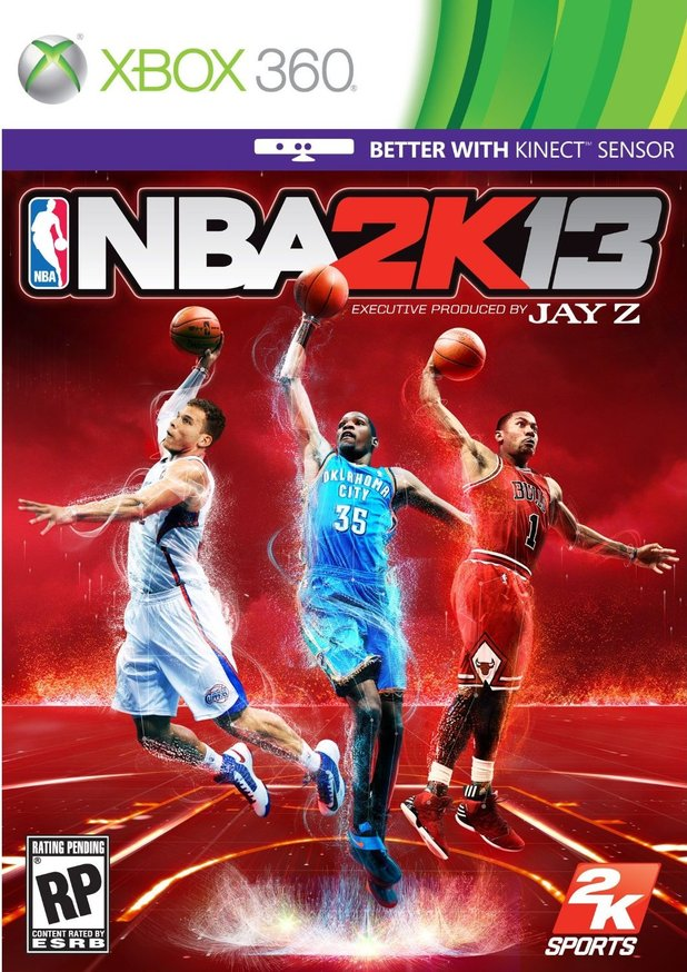'NBA 2K13' box art