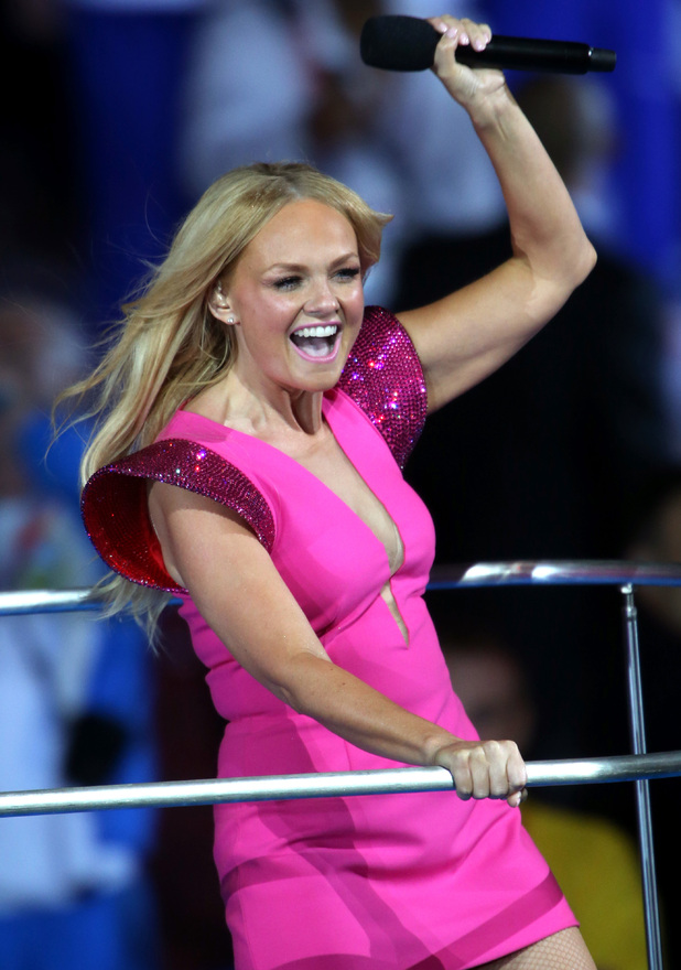 London 2012 Olympics Closing Ceremony: Emma Bunton