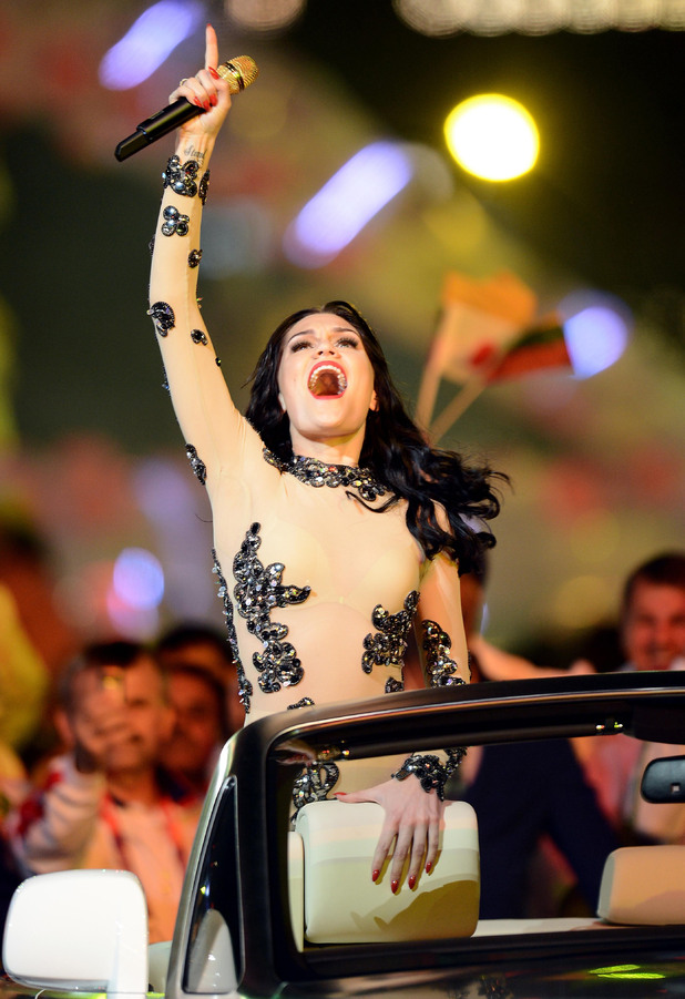 London 2012 Olympics Closing Ceremony: Jessie J