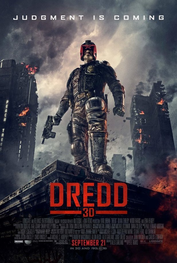 Dredd 3D will debut on September 7 in the UK and September 21 in the ...
