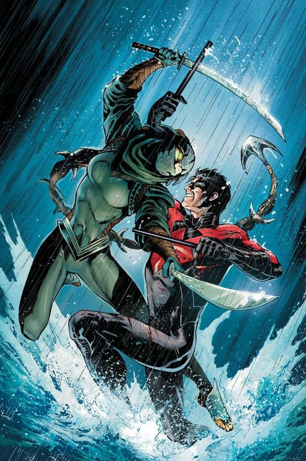 Nightwing #14 artwork