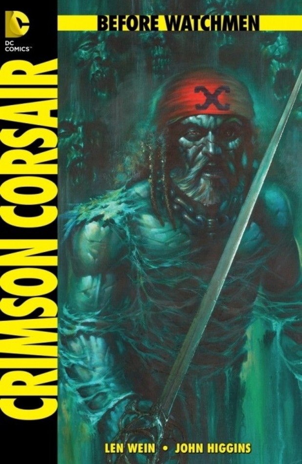 Before Watchmen: The Curse of the Crimson Corsair