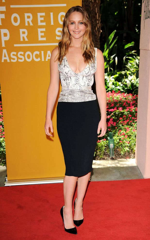 Jennifer Lawrence, Hollywood Foreign Press Association Annual Luncheon, Los Angeles