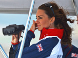 Duchess of Cambridge, Olympic Radial Class medal races