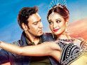 The poster for Ajay Devgan's Himmatwala is released on Twitter.