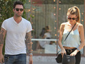 The Voice hosts congratulates Adam Levine and Behati Prinsloo on engagement.