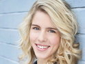 Emily Bett Rickards joins the Green Arrow show as Felicity Smoak.