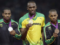 Jamaican sprinter's victory at London 2012 generates over 80,000 tweets per minute.