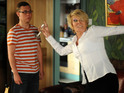 Shirley has a showdown with Ben in EastEnders tonight.