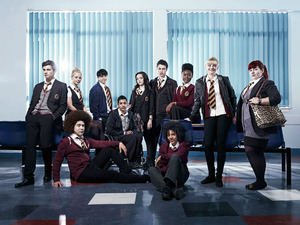 Waterloo Road series eight cast shot