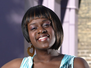 Tameka Empson as Kim Fox in EastEnders