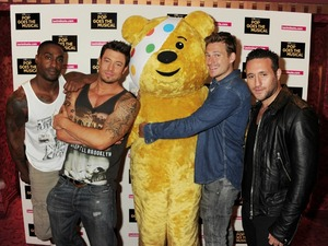 Blue and Pudsey for Children in Need's POP Goes the Musical