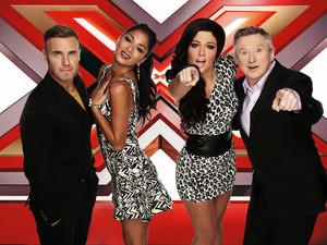 X Factor, Gary, Louis, Tulisa, Nicole