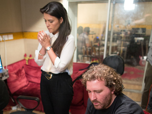 Jessie Ware and Joe Goddard