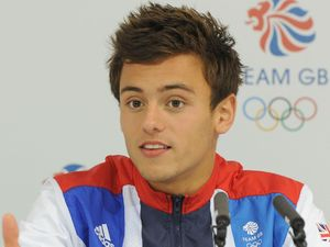 Tom Daley speaks during a press conference at GB House in Stratford, London Picture date: Sunday August 12, 2012. See PA story OLYMPICS . Photo credit should read: Anthony Devlin/PA Wire. EDITORIAL USE ONLY