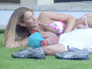 Celebrity Big Brother 2012 - Day 3: Danica and The Situation in the Garden