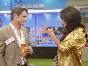 Celebrity Big Brother 2012 - Day 1: Prince Lorenzo and Jasmine