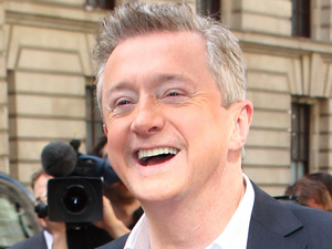 Judge Louis Walsh arriving at The X Factor press launch held at the Corinthia Hotel.
