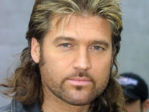 "Billy Ray Cyrus at ""LOVE RIDE"" MOTORCYCLE RALLY, LOS ANGELES, AMERICA - 11 NOV 2001"