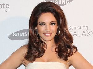 Kelly Brook Samsung celebrate the launch of the Galaxy Note 10.1 held at One Mayfair London