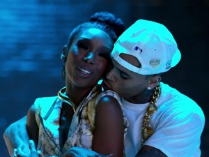 Brandy, Chris Brown 'Put It Down' video