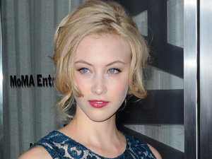 Sarah Gadon at the New York Premiere of 'Cosmopolis' held at The Museum of Modern Art