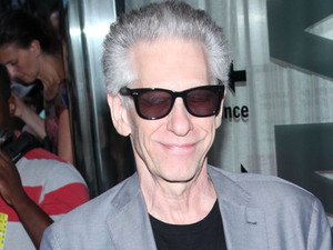 David Cronenberg at the New York Premiere of 'Cosmopolis' held at The Museum of Modern Art