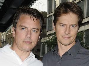 John Barrowman and partner Scott Gill