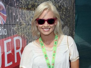 Celebrities at V Festival: Kimberly Wyatt