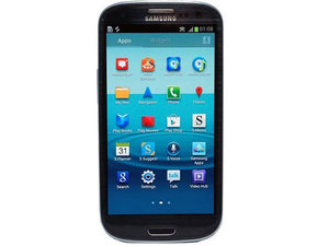 Samsung Galaxy S3 in black