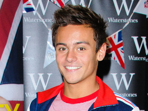 Olympic medalist, Tom Daley