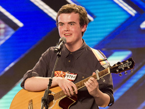 X Factor hopeful Curtis - 2012