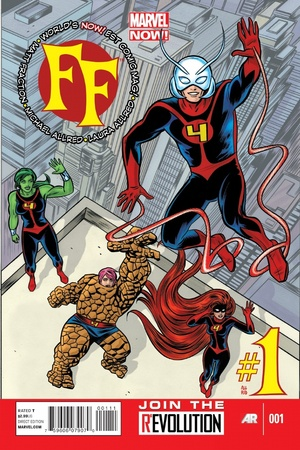 Marvel NOW! 'FF' #1