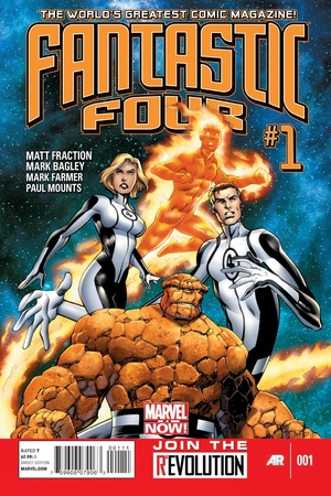 Marvel NOW! &#39;Fantastic Four&#39; #1