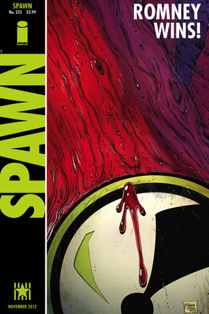 Spawn #225 Watchmen US presidential election