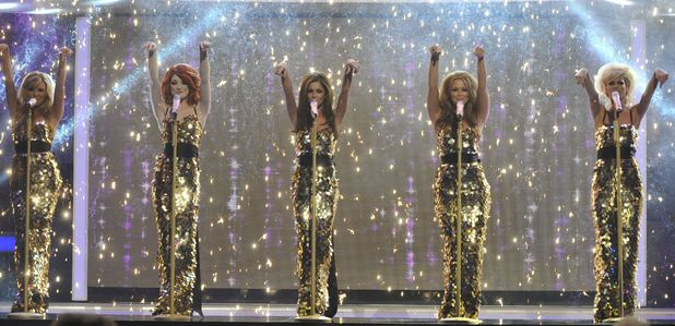 Girls Aloud performance